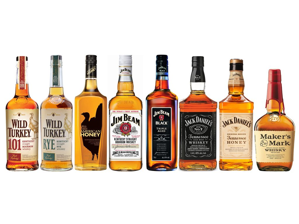 Bourbon y Tennessee Whiskey