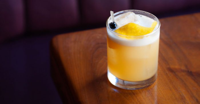 Whisky Sour, cocktail con whisky