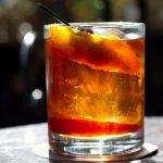 Old fashioned, trago con whiskey
